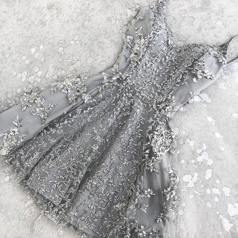 kısa taşlı abiye elbise
