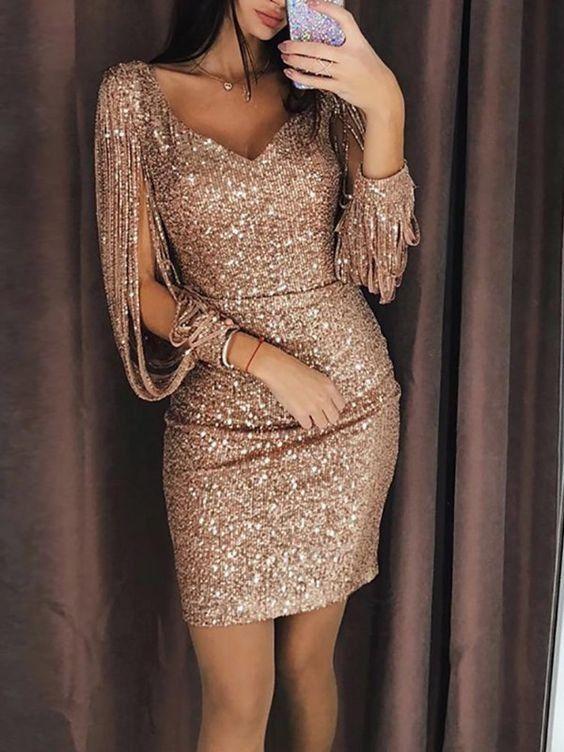 taşlı abiye mini elbise modelleri