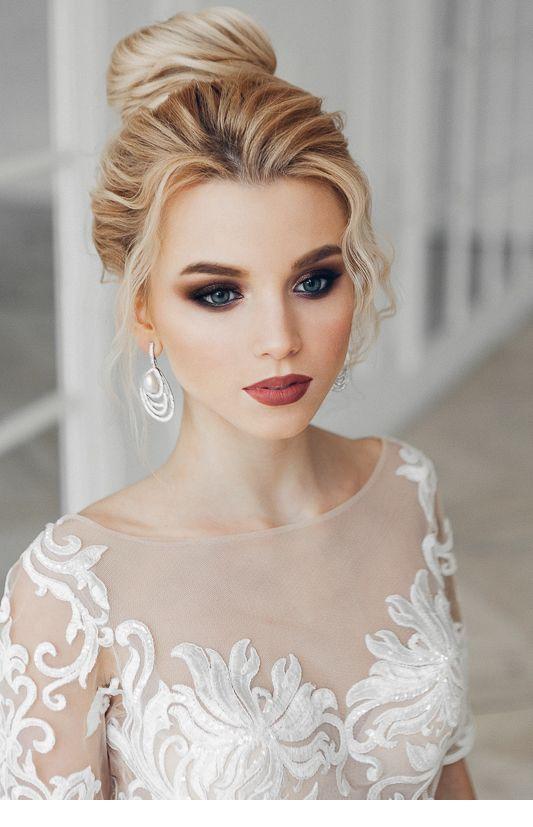 Düğün Saçı Modelleri 2019