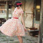 vintage elbise modeli 2020