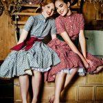 vintage elbise modelleri 2019