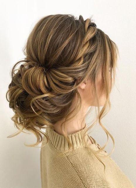 doğal gelin saçı modelleri