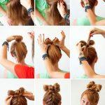fiyonk saç modelleri yapımı
