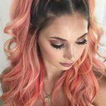 renkli örgülü saç 2019 modelleri