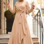 tesettür elbise modeli 2020