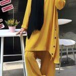 tesettür sarı takım 2019