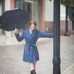 Combinations that can be worn in rainy weather