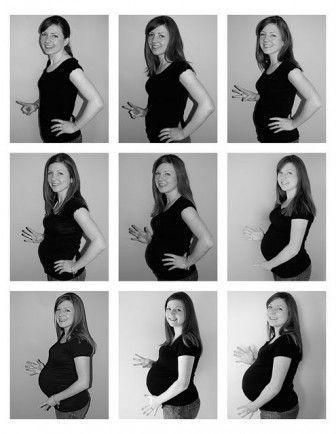 ay ay fotoğraf çekimi hamile