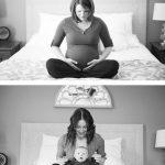 hamile öncesi sonrası fotoğraf