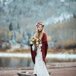 kış için düğün aksesuarları