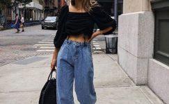 Yeni Pantolon Trendi: Slouchy Jean Modelleri