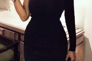 Tek Omuz Elbise Modelleri
