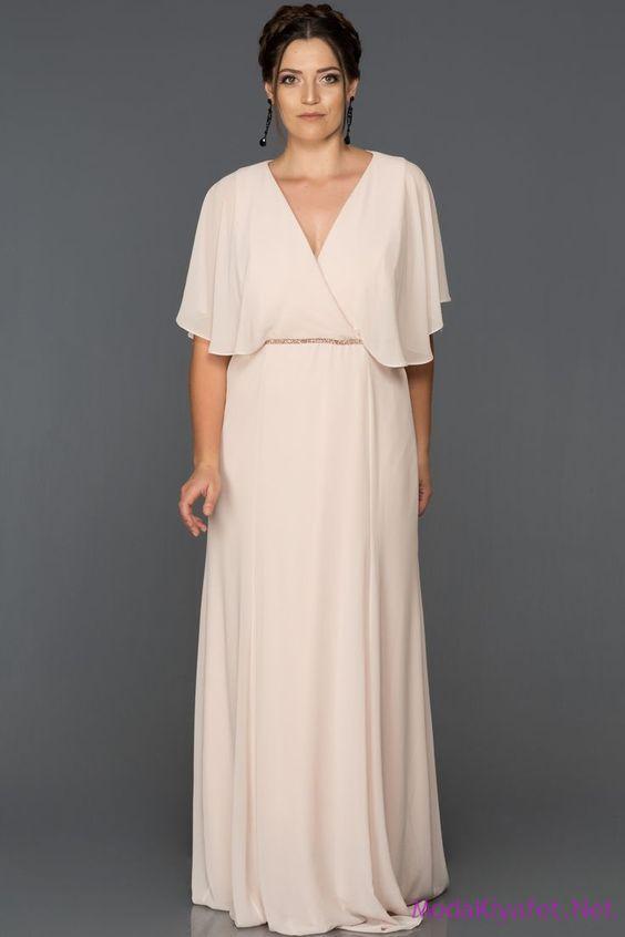 v yaka abiye elbise