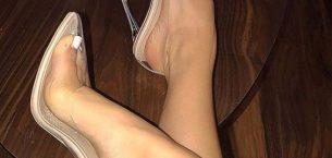 Şeffaf Topuklu Ayakkabı Modelleri
