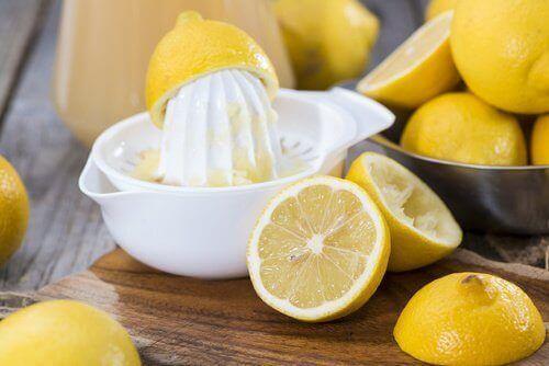 limon ile saç boyası akıtmak