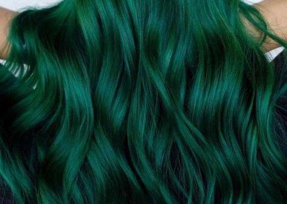 Yeşil Saç Rengi ve Modelleri