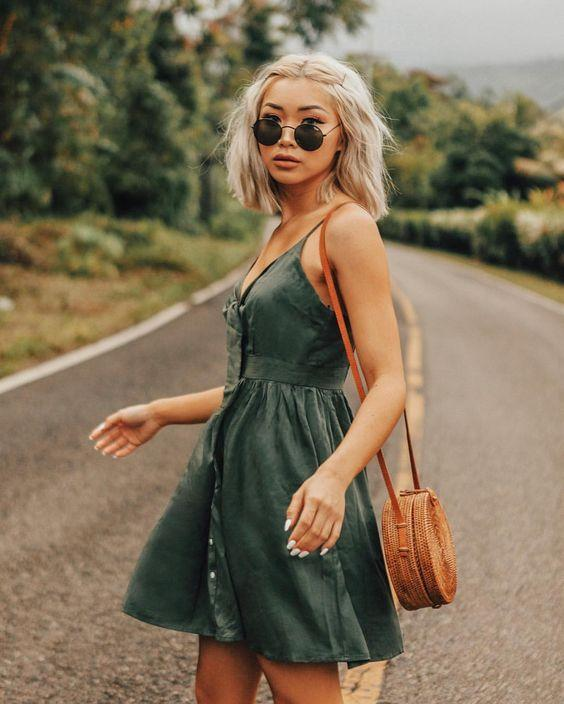 mini elbise kombinleri