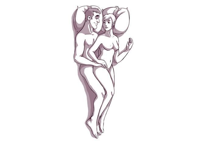sekste yan yatış pozisyonu
