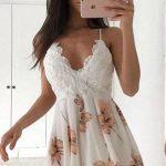beyaz parti elbisesi modelleri