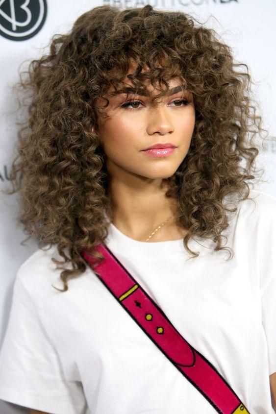 curly hair 2020 modals