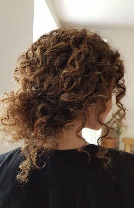 kıvırcık saç nasıl toplanır