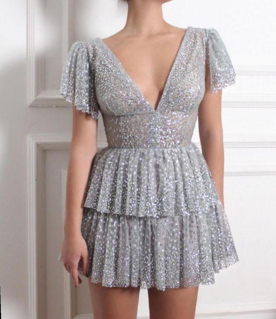mini elbise modelleri 2020