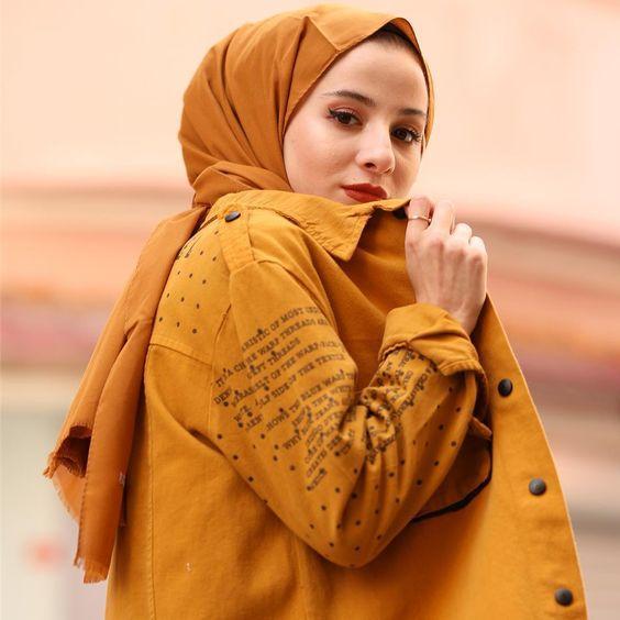 esmer tenli kadınlar için şal renkleri