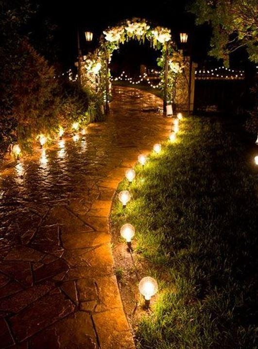kır düğünü aydınlatma