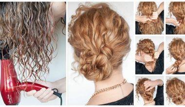 Kıvırcık Saçlı Kadınlar İçin Günlük Saç Modelleri