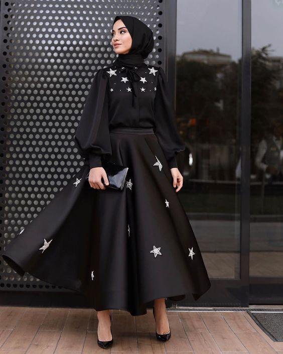 kuşaklı saten abiye elbise modeli