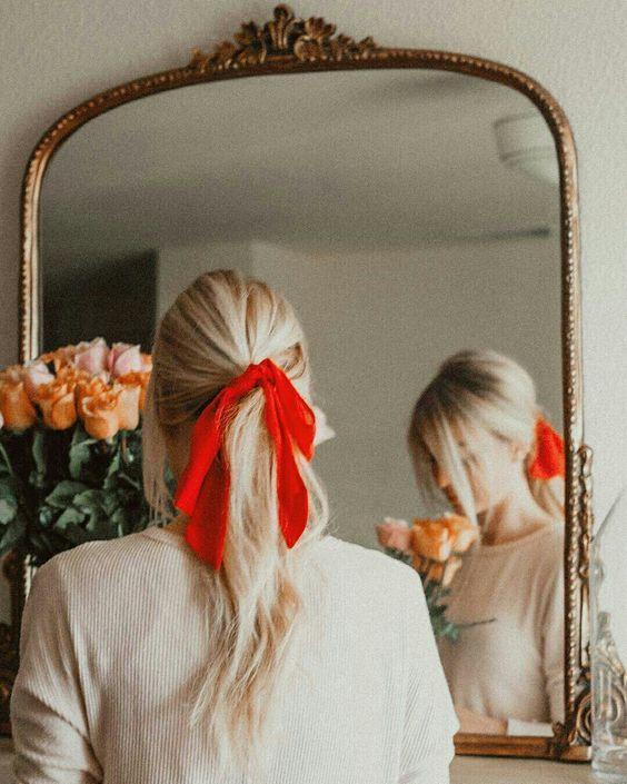 kurdela ile saç toplama