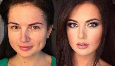 Kadınlarda Yüzü Zayıf Gösteren Makyaj Tüyoları