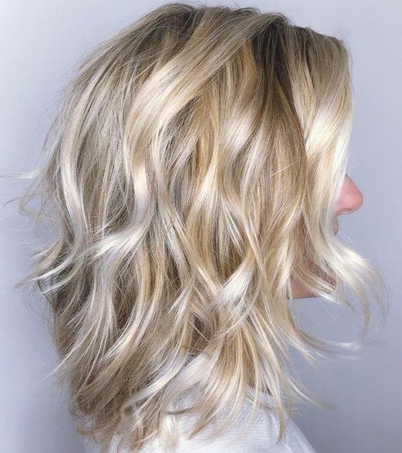blonde hair modals