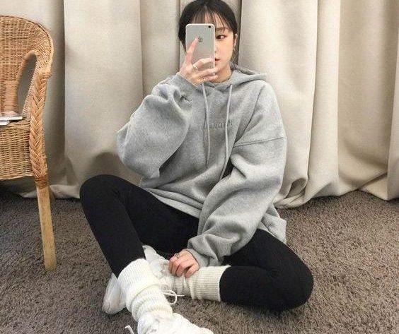 Sweatshirt Tayt Kombin Önerileri | Sonbahar-Kış Alarmı