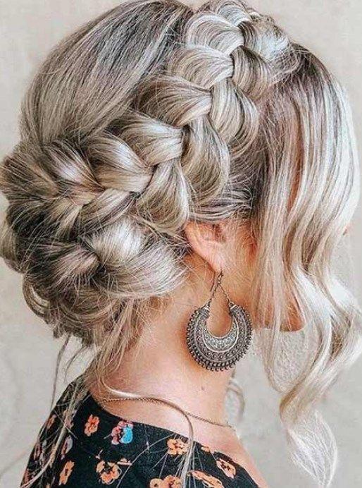 kabarık saç modelleri düğün