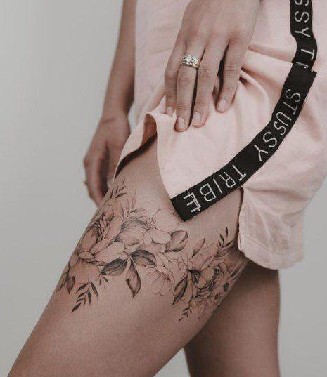baldır dövme modeli