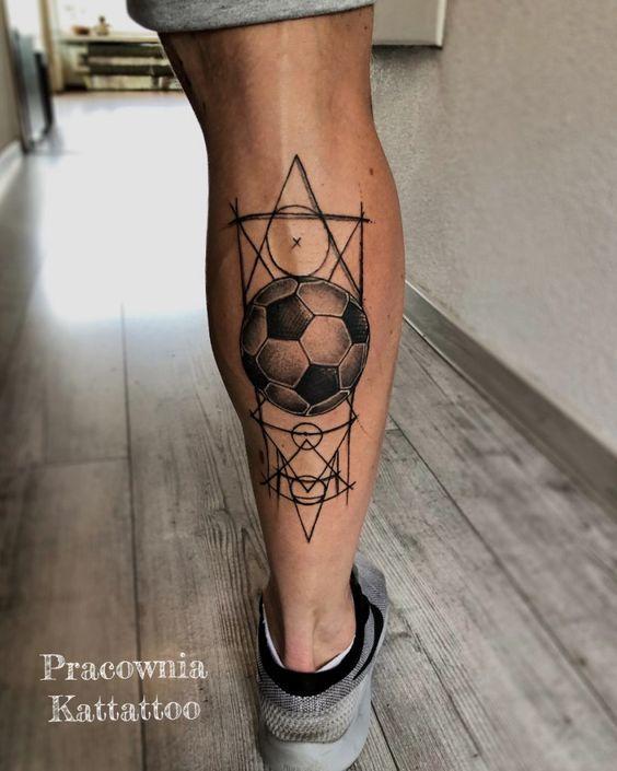 football tattoo modals