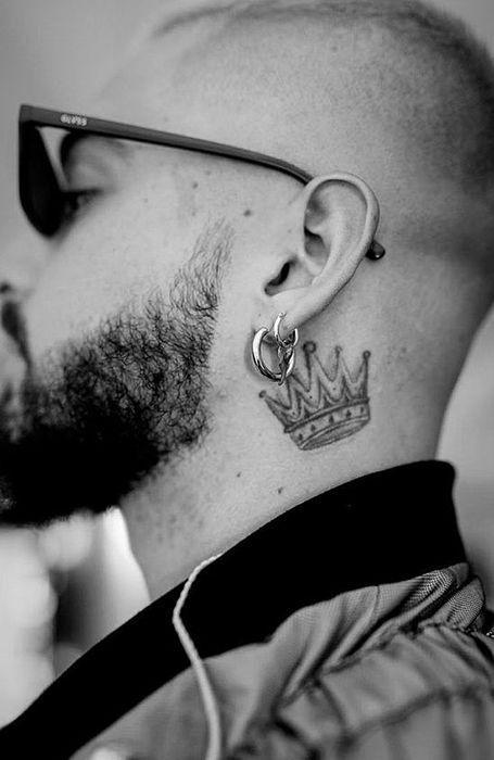 kral tacı dövme
