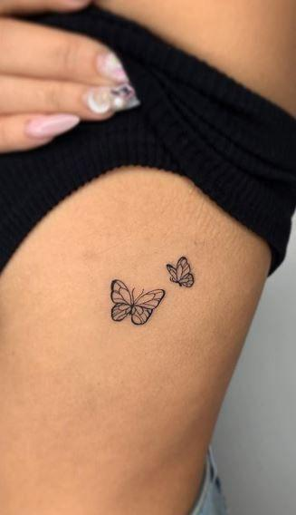 small tattoos butterfly