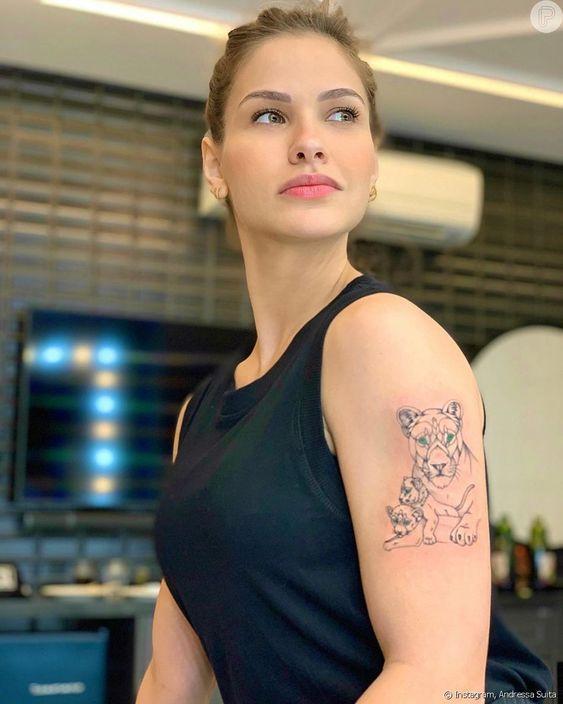 tiger tattoos modals