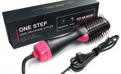 One Step Saç Şekillendirici Fırça Tarak