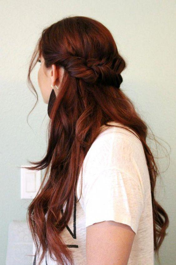 kızıl kestane saç rengi