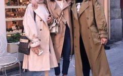 Tesettür Giyimin Vazgeçilmez Kombin Parçası: 2021 Trençkot Modelleri