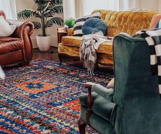 vintage ev dekorasyon