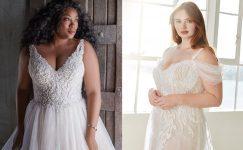 Gelinlik Modelleri: Kilolu Kadınları Zayıf Gösteren Gelinlikler