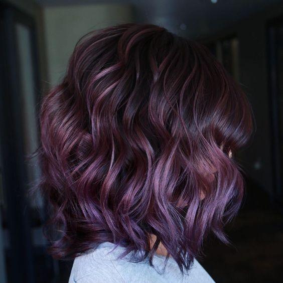 böğürtlen saç rengi