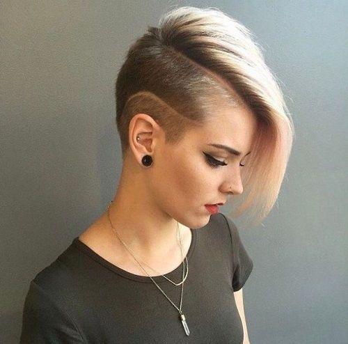 kadınlarda kısa saçlı modeller