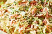 Coleslaw Tarifi: Beyaz Lahana Salatası