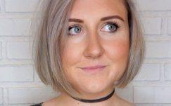 Yuvarlak Yüze Küt Saç Modelleri