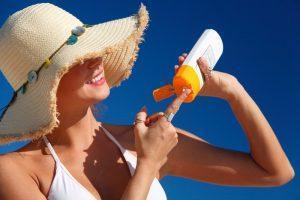 Yağlı ciltler için güneş kremi